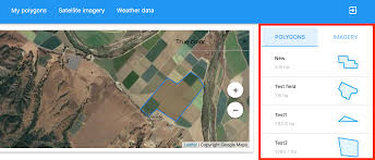 Satellite Weather Chart Agriculture Api Dashboard Satellite Imagery For Polygon