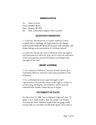 Persuasive Memo Examples Image Of Bench Memo Fillable Online Gpo Bench Memo Motion For