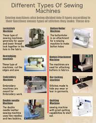 Kinds Of Sewing Machines