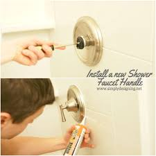 install a new bathtub faucet diy bathroom bathroomremodel remodel