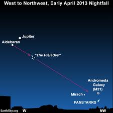 Can You See Comet Panstarrs Now Find Out Todays Image