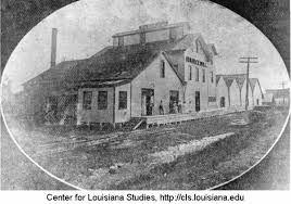 Ida Rice Mill in Rayne. | Louisiana Digital Library
