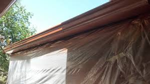 faux copper gutters.  Gutters Inside Faux Copper Gutters R