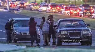 breaking major clayton county roadway shut down after deadly pedestrian crash
