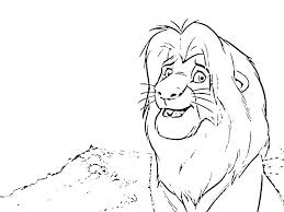baby simba coloring pages baby coloring pages coloring page coloring page the lion baby simba lion