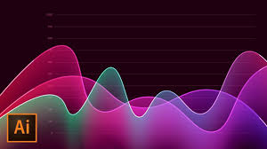 Adobe Charts And Graphs How To Create Metrics Line Graph Analytics Vector Artwork In