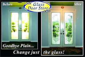 excellent replace glass insert front door replace door glass insert replace glass insert front door entry