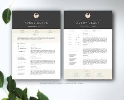Office 2010 Resume Template Resume Template For Ms Word Resume Templates Creative Market With