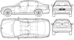BMW 3 Series bmw 3 series height : The-Blueprints.com - Blueprints > Cars > BMW > BMW 3-Series Sedan ...