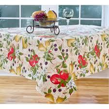 everyday fruits 70 round vinyl tablecloth