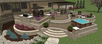 designing a patio layout