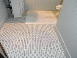 vintage bathroom tile vintage bathroom with hex tile and wood wainscoting vintage bathroom floor tile ideas