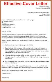 Cover Letter Design Best Sample Effective Cover Letters Job