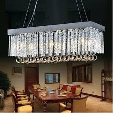 rectangular crystal chandelier canada floating prestige custom