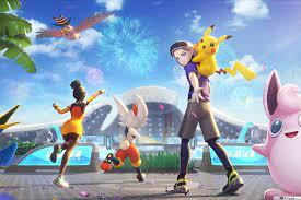 2021) Celebration Time - Pokemon Unite (Online Video Game) HD wallpaper  download