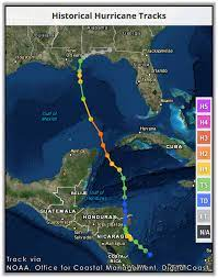 Tropical storm ida formed early thursday afternoon in the western caribbean, and as of midday friday, it was projected that the storm would track into the gulf eventually as a hurricane of at. Hurricane Ida November 10 2009