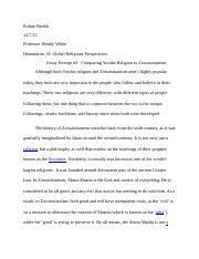 rite of passage essay rohan sheikh professor wendy white  4 pages rite passage essay 2