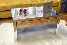 mirrored coffee table offer