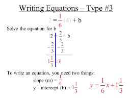 39 writing equations