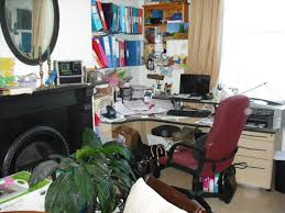 Organising home office Clutter Free Home Office Before Organising And Decluttering Welcome Space Welcome Space Decluttering And Organising In Gloucestershire And
