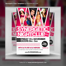 club flyer templates free club flyer templates template business