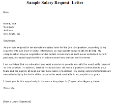 pay raise letter samples brilliant ideas of sample letter to request salary increase also