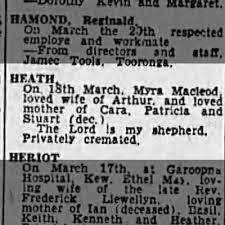 Death Myra HEATH 1968 - Newspapers.com