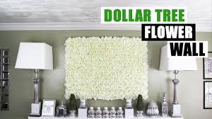 diy dollar tree flower wall diy fl wall home decor