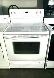 whirlpool glass top stove canning ran white electric burner not working st on a all american