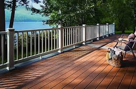 trex select square edged decking board have an outdoor deck