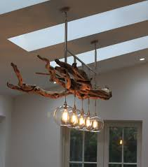 driftwood lighting. we quite frequently have requests for bespoke lighting designs but this driftwood chandelier is one of pinterest