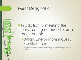 Merit Designation Class Of Ppt Download