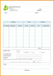 Payment Invoice Template Excel Bill Slip Format Free Templates Blank