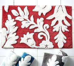 pottery barn bath mat damask bath rug pottery barn bath rug sets