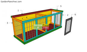 double large dog kennel free diy