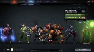 jual dota 2 item hero set equipment courier hud tools key