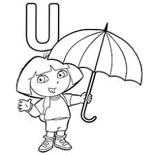 Small Picture Letter U Coloring Pages Free Printables MomJunction