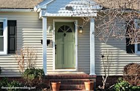 the front doorpaint the front door