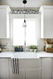 lighting over kitchen sink. farmhouse sink review pros u0026 cons lighting over kitchen