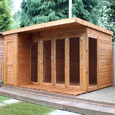 summer house office. 12X8 Combi Garden Room Shiplap Timber Summerhouse \u0026 Store   Departments DIY At B\u0026Q Summer House Office M