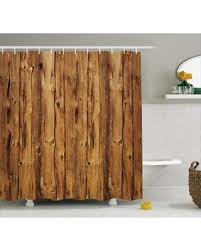 Bathroom decor shower curtains Bathroom Design Rustic Home Decor Shower Curtain Wooden Texture Nature Forest Trees Pattern With Rough Decor Timber People Amazing Winter Deal Rustic Home Decor Shower Curtain Wooden