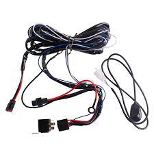wholesale spot flood led work driving light wiring loom harness 12v 40a hilux spotlight wiring harness spot flood led work driving light wiring loom harness 12v 40a switch relay driving light