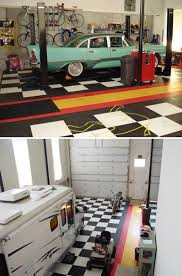 Decorating: Garage Man Cave With Home Gym - Garage Man Cave