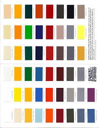 Poly Fiber Color Chart Monocoupe Resources