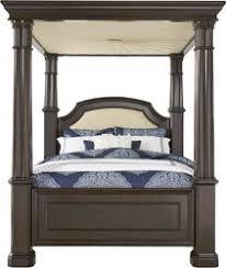 Dumont Cherry 4 Pc Queen Canopy Bed