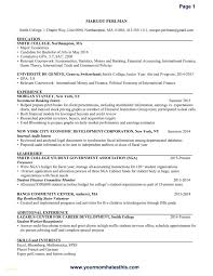 Investment Banking Resume Inspirational Investment Banking Resume
