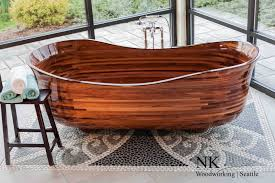 decorating excellent wooden bathtubs 26 woodbathtub 05 wooden bathtubs diy