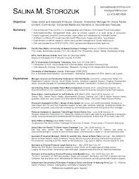 Film Production Resume Template Delectable Film Assistant Director Resume Sample Film Assistant Director