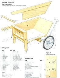 garden cart plans. 2 Wheeled Garden Cart Two Wheel Carts Outdoor Plans .