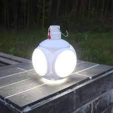 Đèn tích điện năng lượng mặt trời 5 bóng LED5